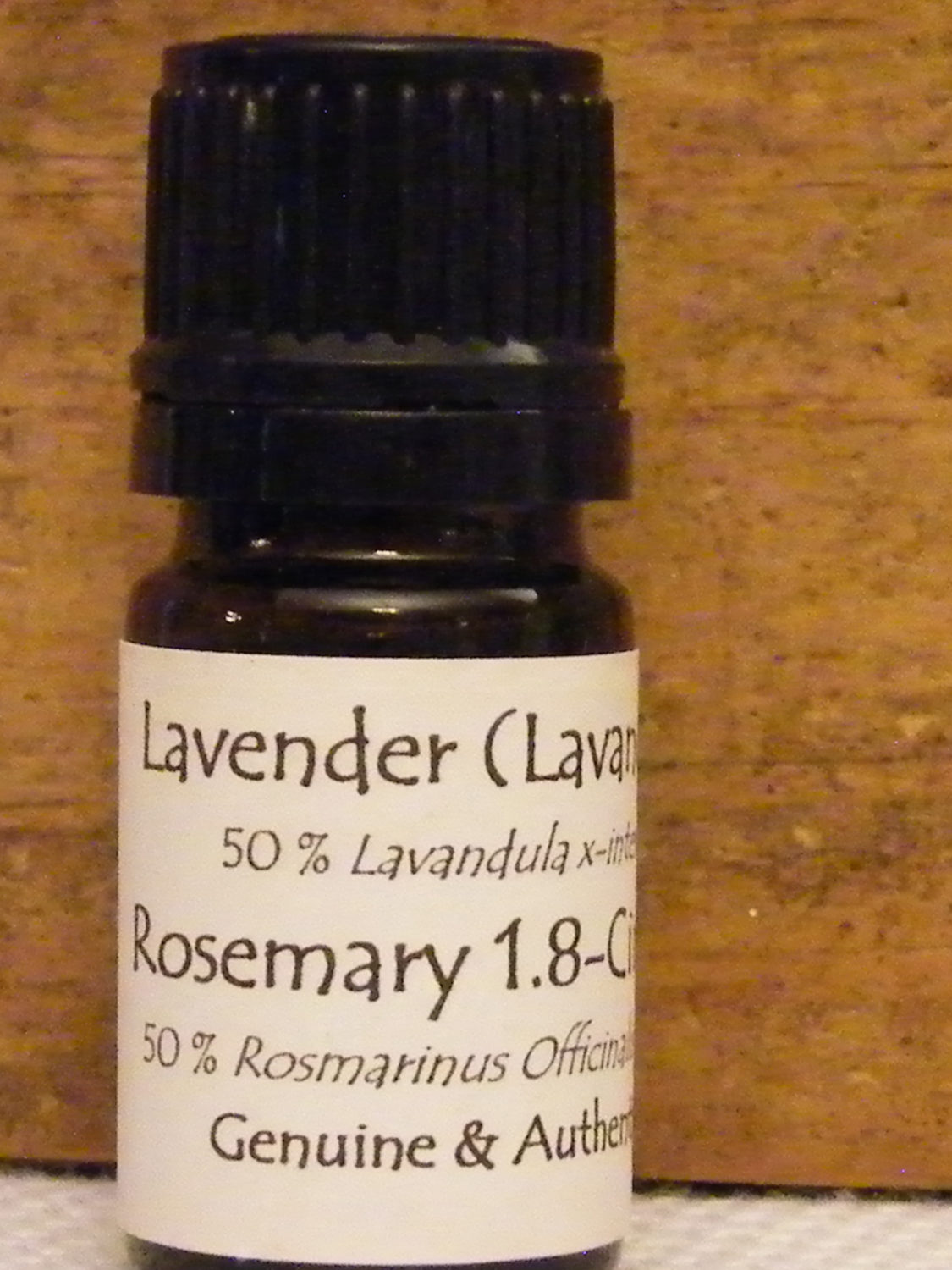 Genuine and Authentic Lavender and Rosemary Essential Oil
