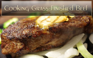 Cooking Grass-Finished Beef